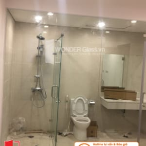mẫu phòng tắm kính đẹp, phòng tắm kính đà nẵng