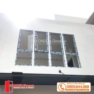 mẫu cửa sổ mở hất nhôm xingfa, cửa nhôm xingfa đà nẵng