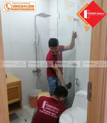 Cửa kính phòng tắm đà nẵng